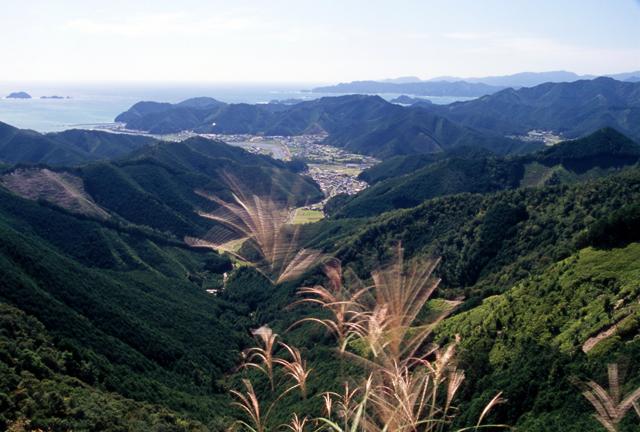 望洋ーツヅラト峠より