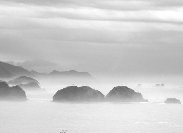 霧の紀伊の松島